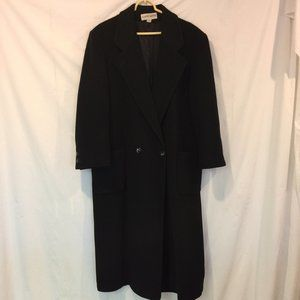 Albert Nipon Cashmere Wool  Coat